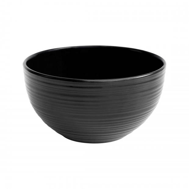 Okayama kom uni - zwart - 14 cm