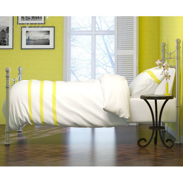Italian Home Collection dekbedovertrek Deauville Lime-140x200/220