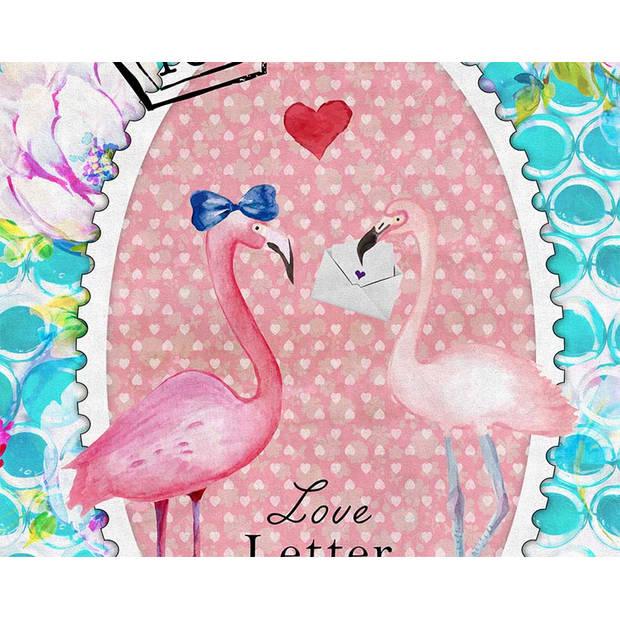 So Cute Strandlaken Flamingo Multi (100x180cm)