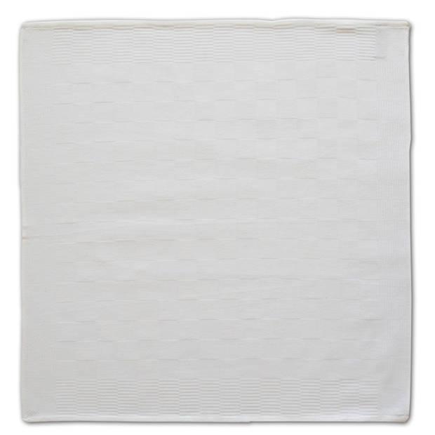 DDDDD Theedoek Barbeque White (6 stuks)