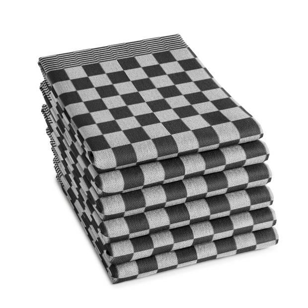 DDDDD Theedoek Barbeque Black (6 stuks)