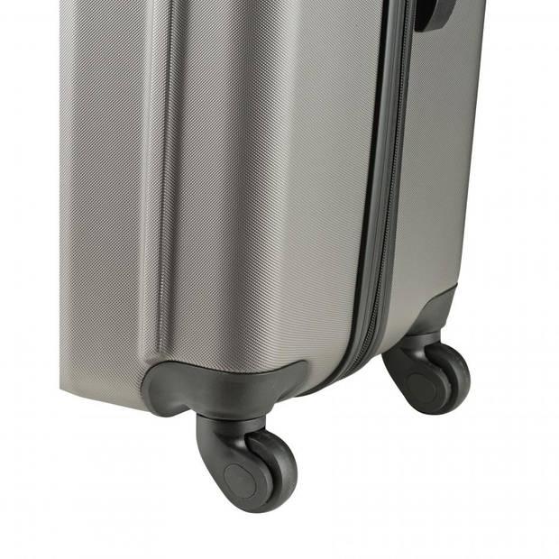 Princess Traveller Rome koffer ABS - S - lichtgrijs