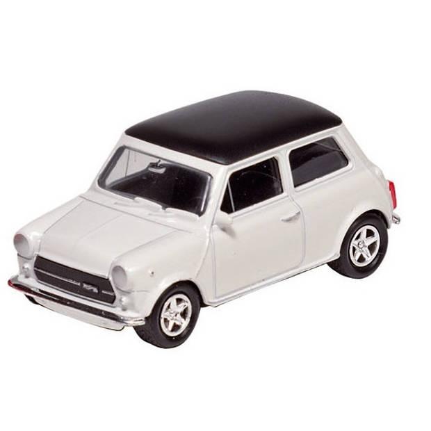 Welly Metalen Mini Cooper 1300: Wit 7 cm
