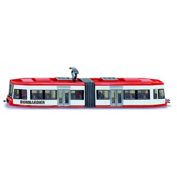 Siku bombardier tram rood/wit (1895)