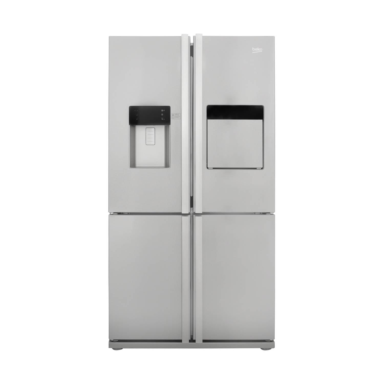 Beko GNE134630X amerikaanse koelkasten - Roestvrijstalen effect
