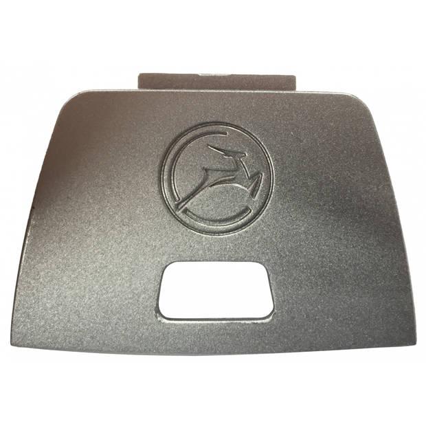 Gazelle achterlichtkapje Powervision zilver