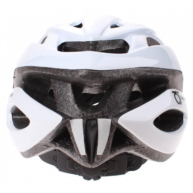Cycle Tech fietshelm Pearl wit 54/58 cm
