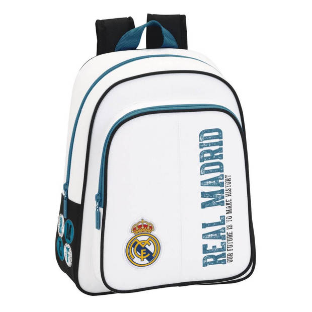 Real Madrid History - Rugzak - 34 cm - Wit