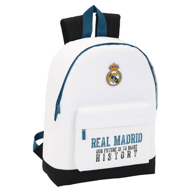 Real Madrid History - Rugzak - 43 cm - Wit