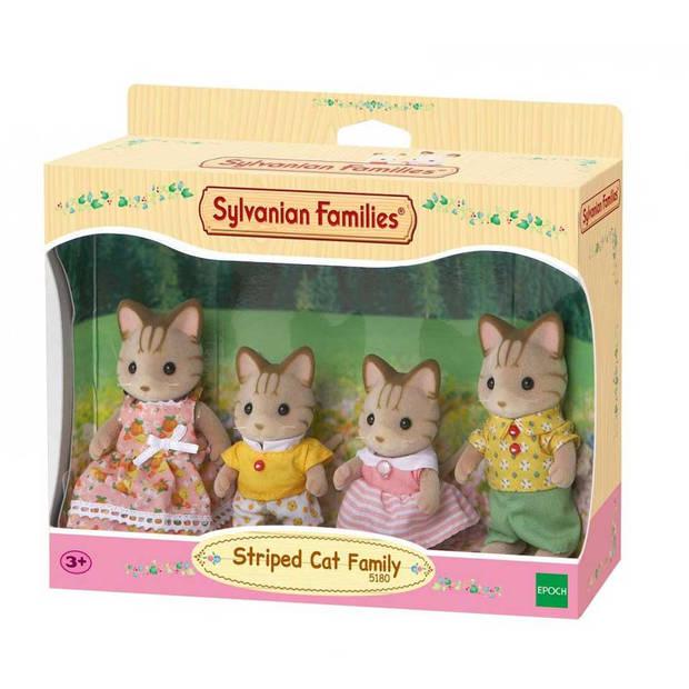 Sylvanian Families familie Gestreepte Kat 5180