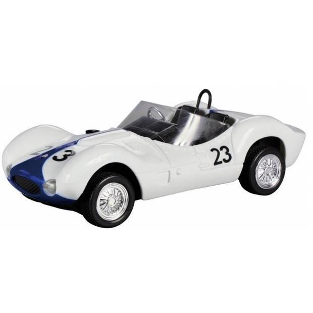Cartronic RC Maserati Birdcage wit/blauw 1:24