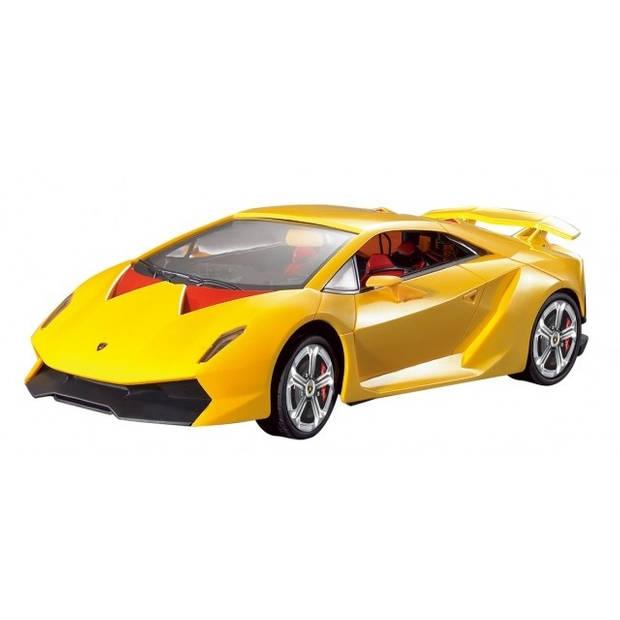 Cartronic RC Lamborghini Sesto Elemento geel 1:24
