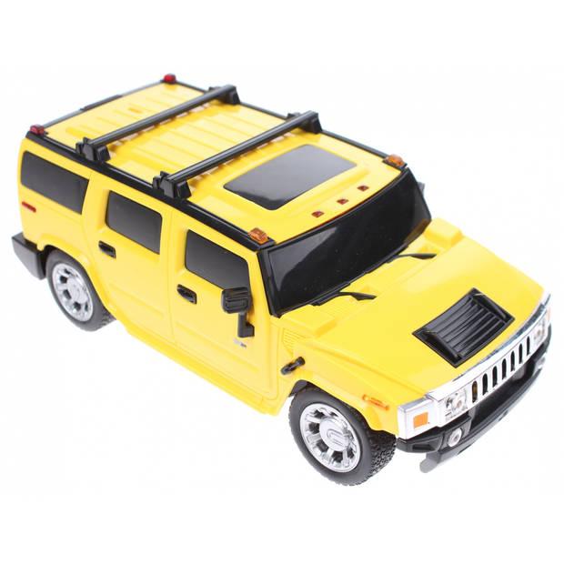 Radio Fun RC Hummer H2 1:24 geel