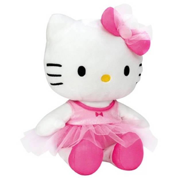 Jemini Hello Kitty Knuffel Ballerine meisjes roze 27 cm