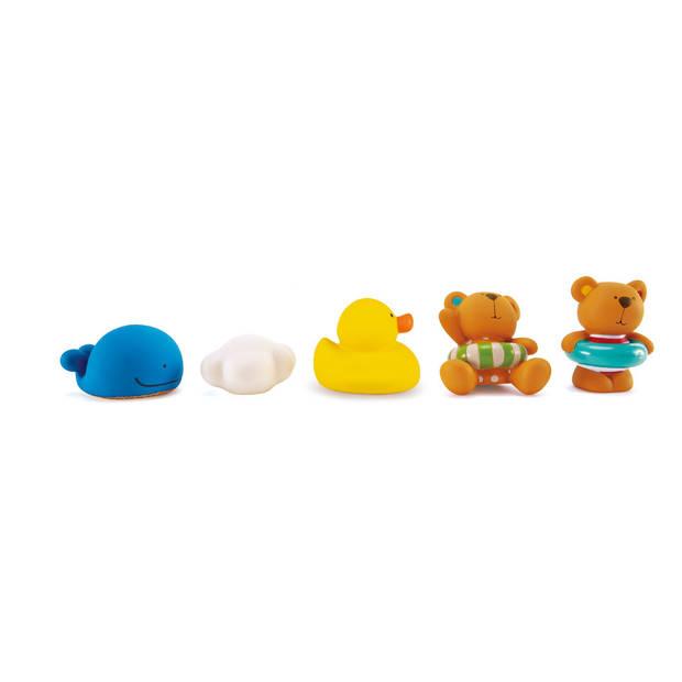 Hape teddybeer en vrienden badspeeltjes
