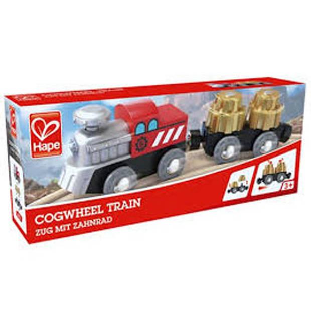 Hape trein met bewegende lading