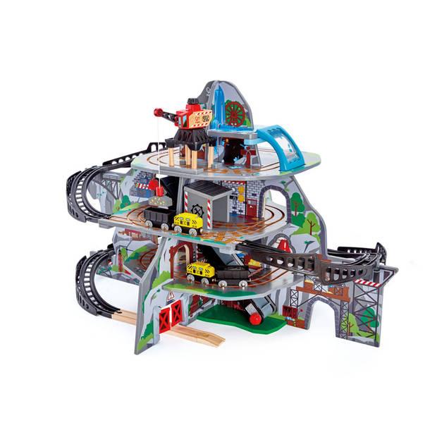 Hape houten mijnbouw set