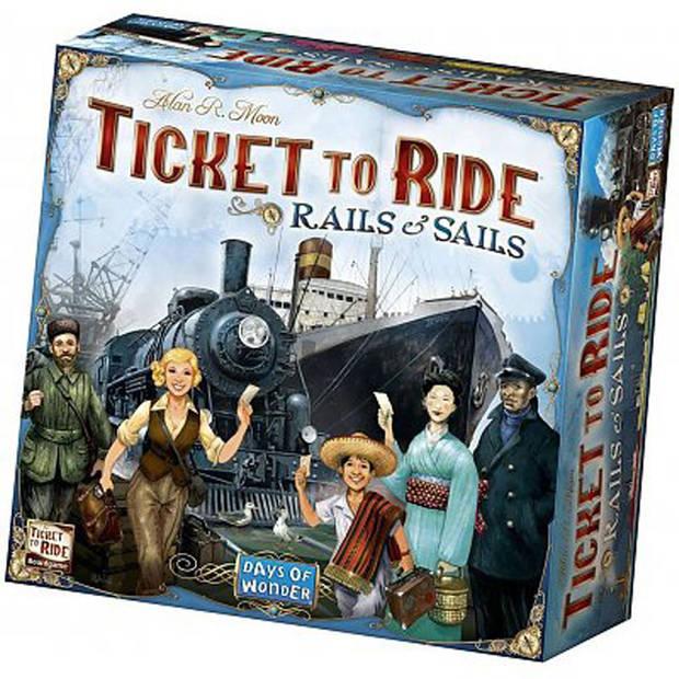Ticket to Ride Rails & Sails - Bordspel Nederlandstalig