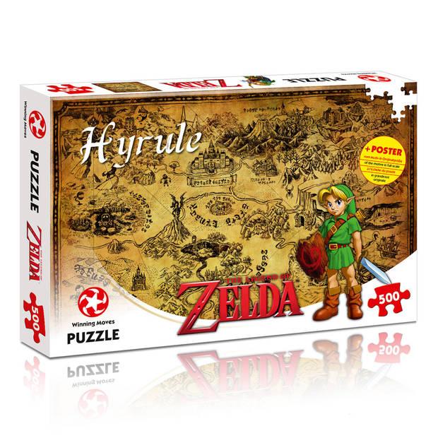 Puzzel Legend of Zelda Hyrule - 500 stukjes