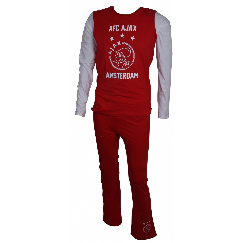 Afbeelding van Ajax AFC pyjama rood/wit junior maat 104