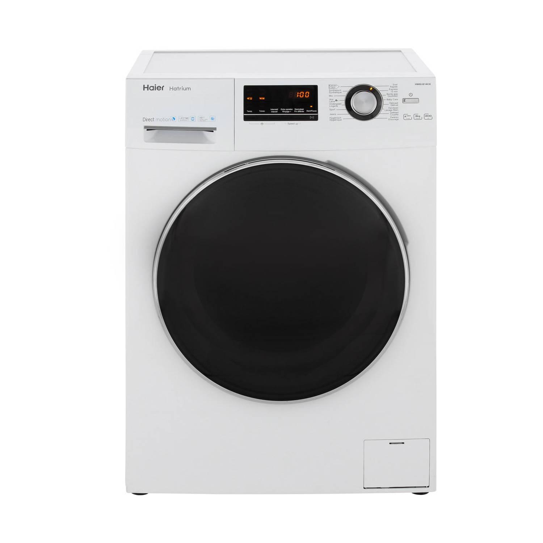 Haier HW80-B14636 wasmachines - Wit