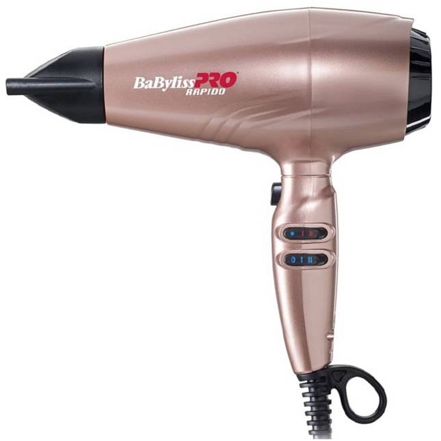 Afbeelding van BaByliss PRO Fohn Rapido BAB7000IRGE Limited Edition - 499