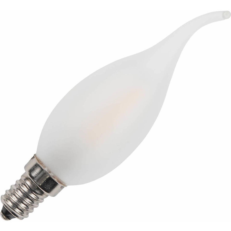 Ampoule flamme tip mate led filament 1,9w (remplace 15w) petit culot ...