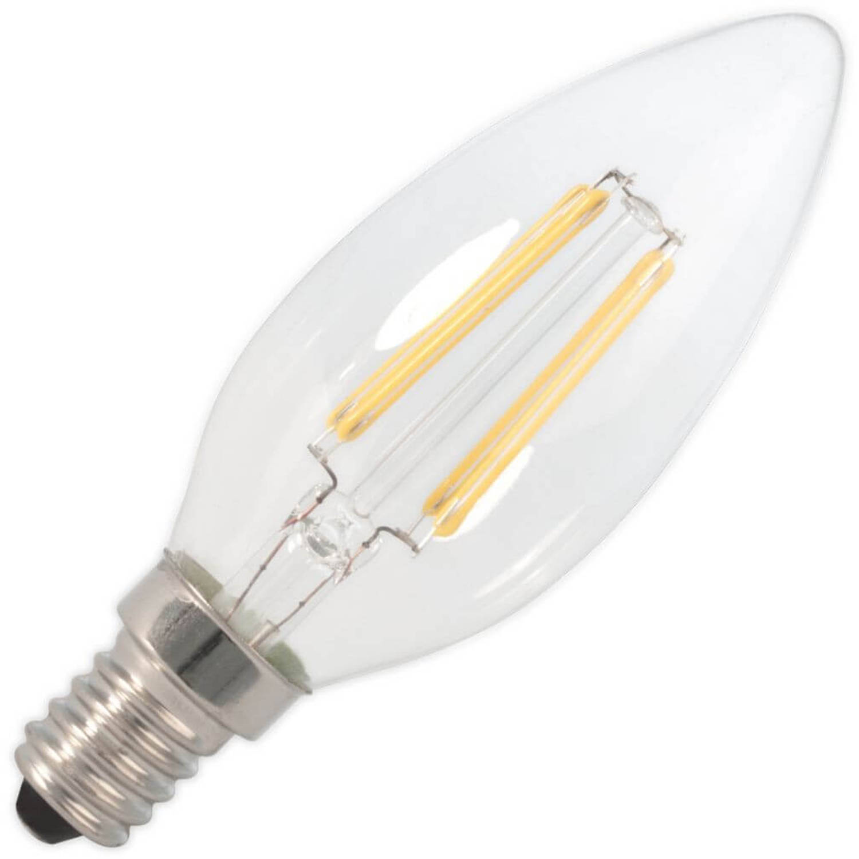 Kaarslamp led filament 1,8w (vervangt 20w) kleine fitting e14