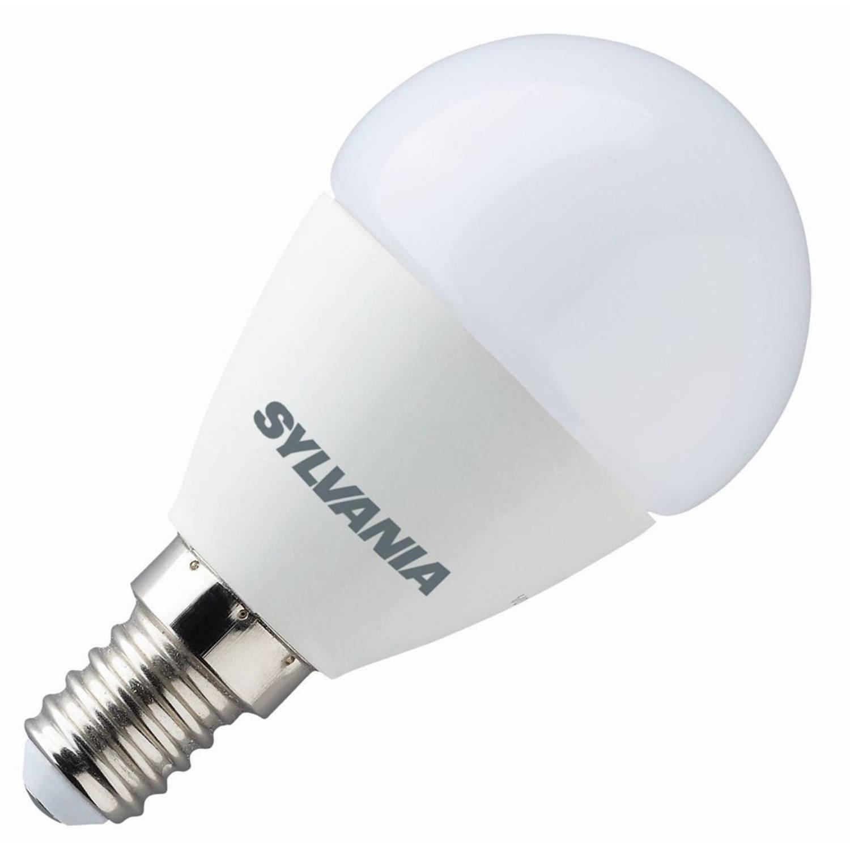 Sylvania toledo sundim kogellamp led 6,5w (vervangt 40w) kleine fitting e14