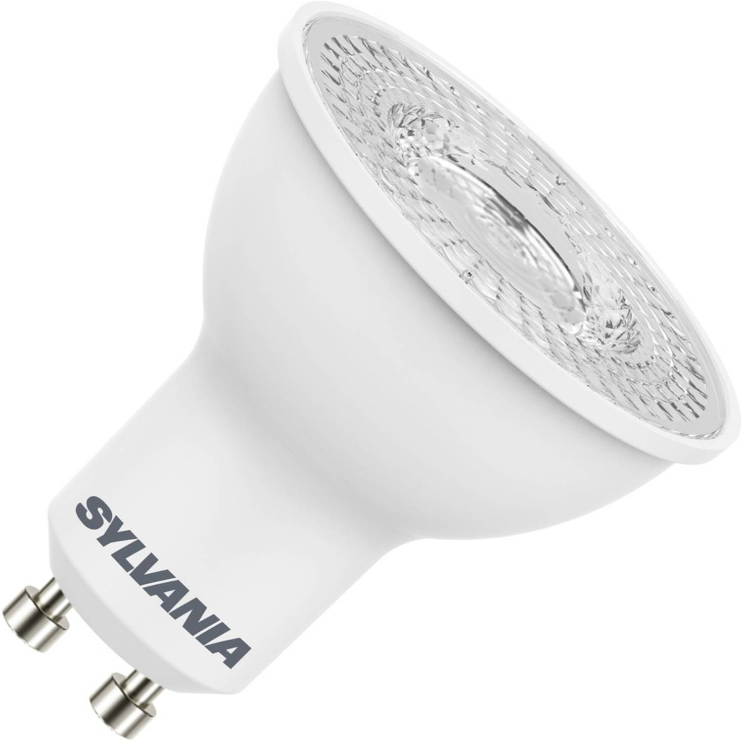 Sylvania led reflector 230v 4,5w (vervangt 47w) gu10 50mm 4000 koel-wit 110⁰