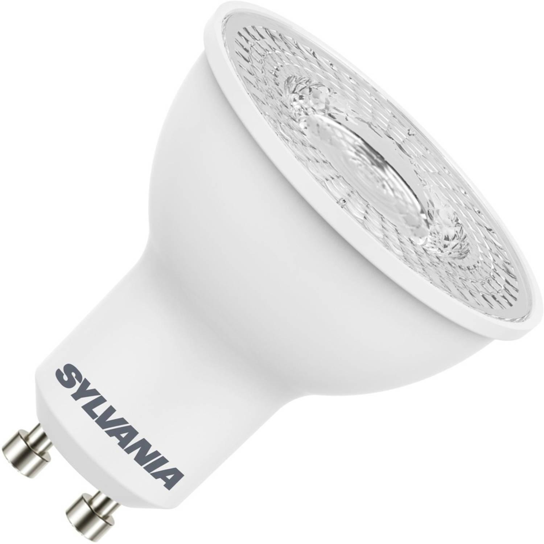 Sylvania led reflector 230v 4,5w (vervangt 47w) gu10 50mm 4000 koel-wit 110⁰