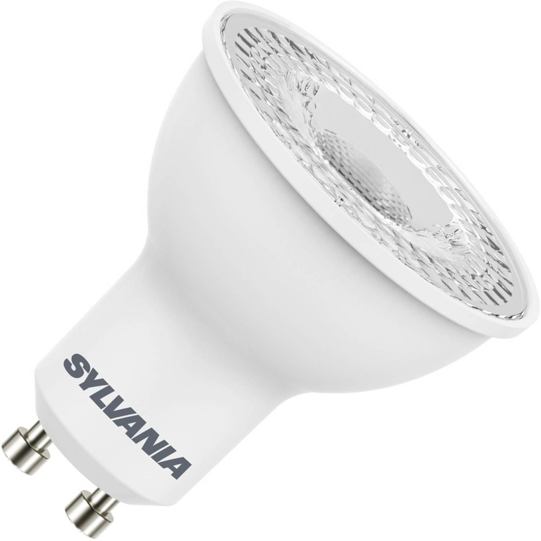 Sylvania led reflector 230v 4,5w (vervangt 50w) gu10 50mm 2700 warm-wit