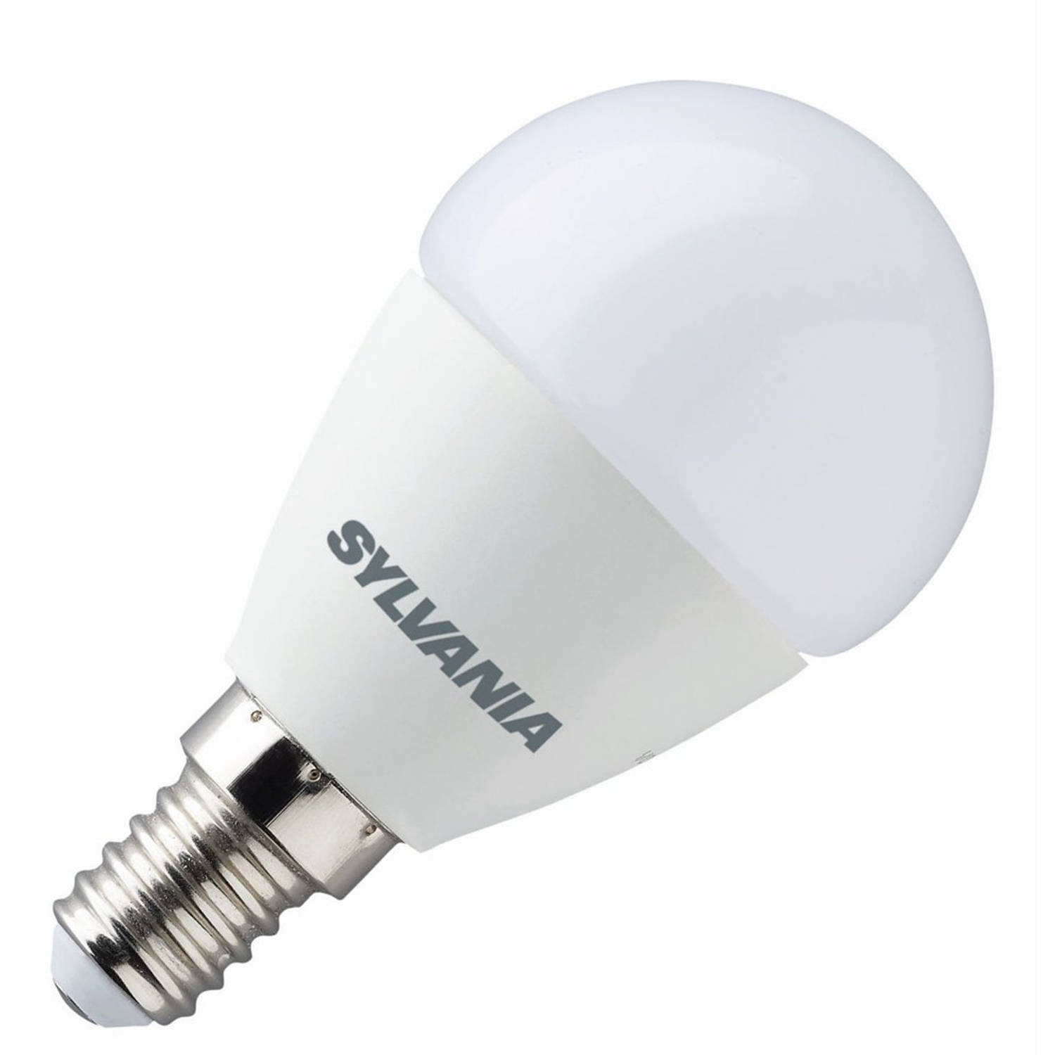 Sylvania toledo stepdim kogellamp led 5,5w (vervangt 40w) kleine fitting e14