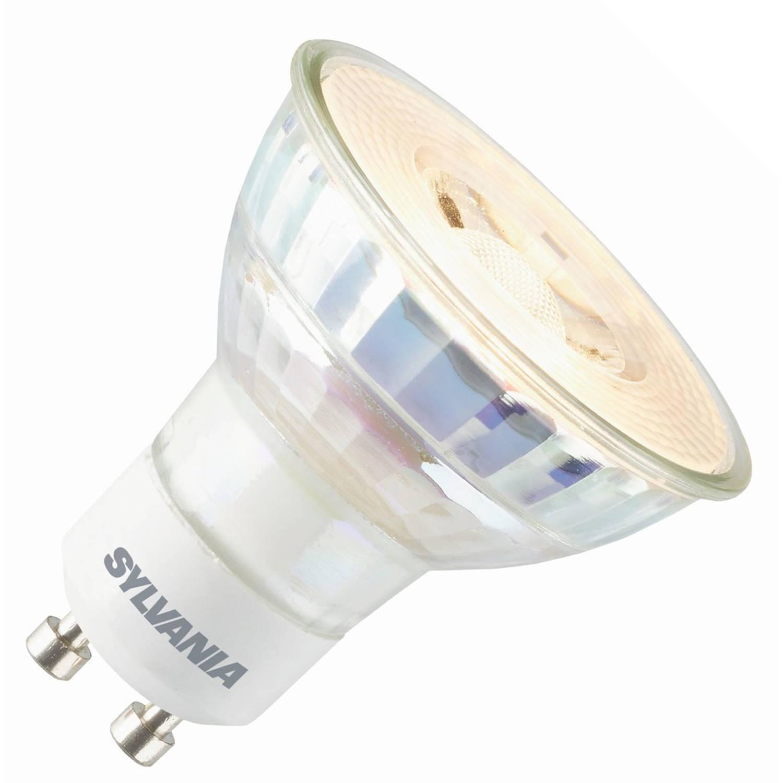 Sylvania led reflector 230v 5,5w (vervangt 35w) gu10 50mm 3000 warm-wit