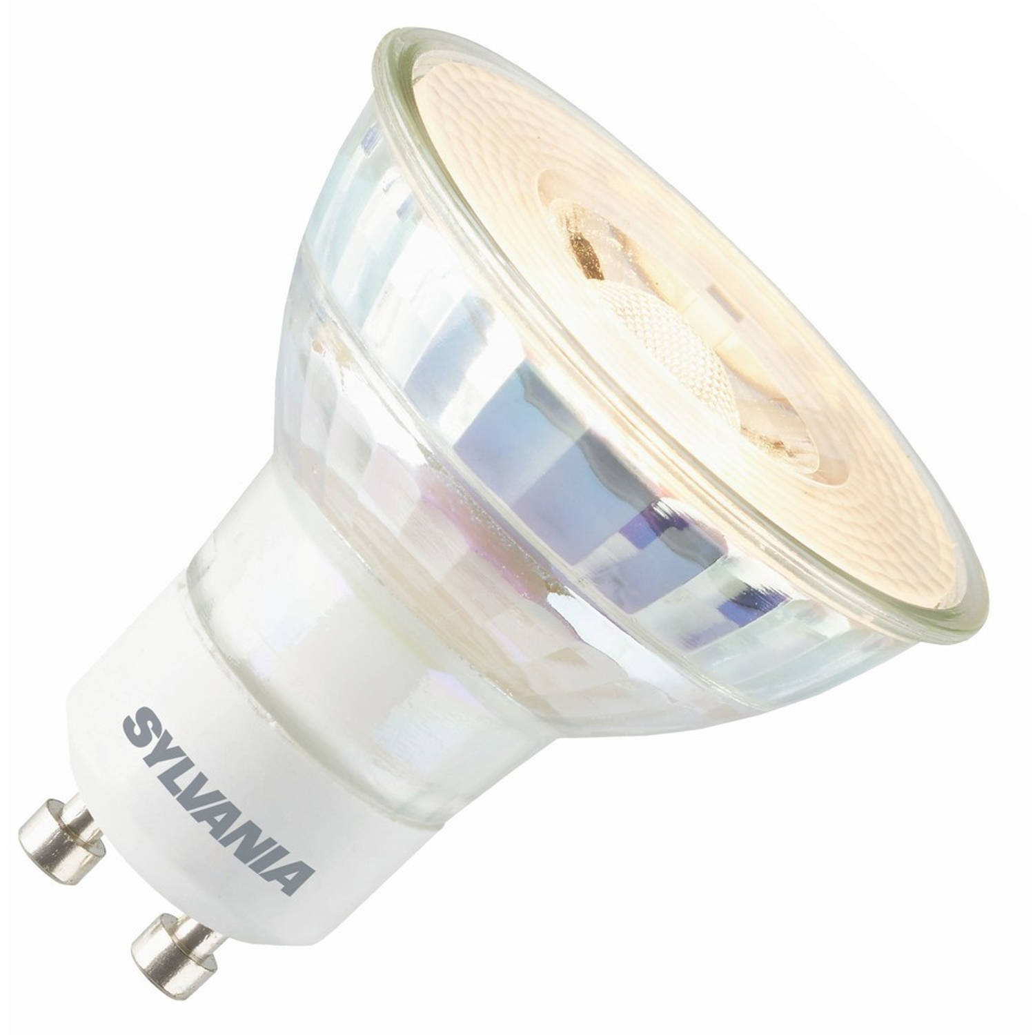 Sylvania led reflector 230v 3,3w (vervangt 25w) gu10 50mm 3000 warm-wit