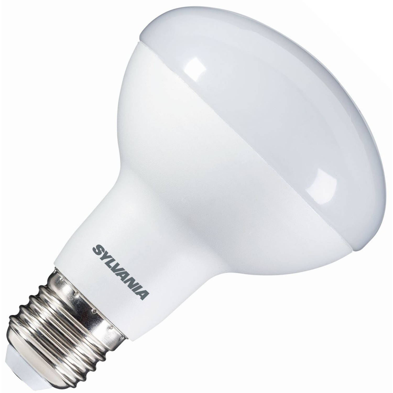 Sylvania reflectorlamp r80 led 9w (vervangt 80w) grote fitting e27