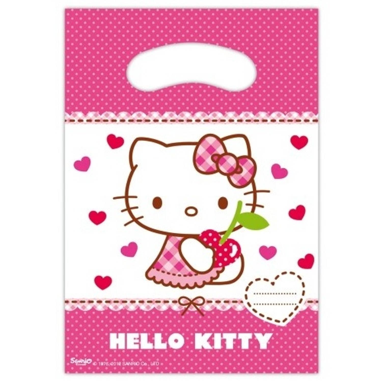 Korting Hello Kitty Feestzakjes 6 Stuks