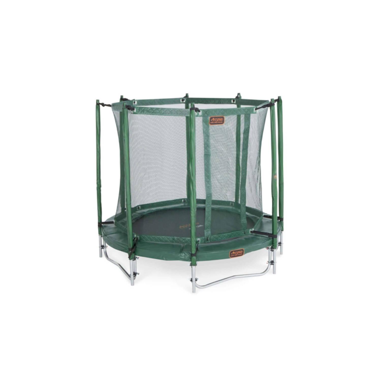 Afbeelding van Avyna pro-line 06 ronde trampoline ø200 cm, net boven, ladder, groen