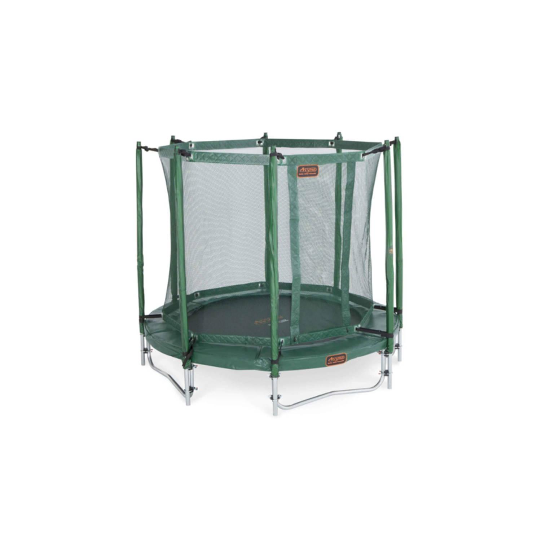 Afbeelding van Avyna pro-line 08 ronde trampoline ø245 cm, net boven, ladder, groen