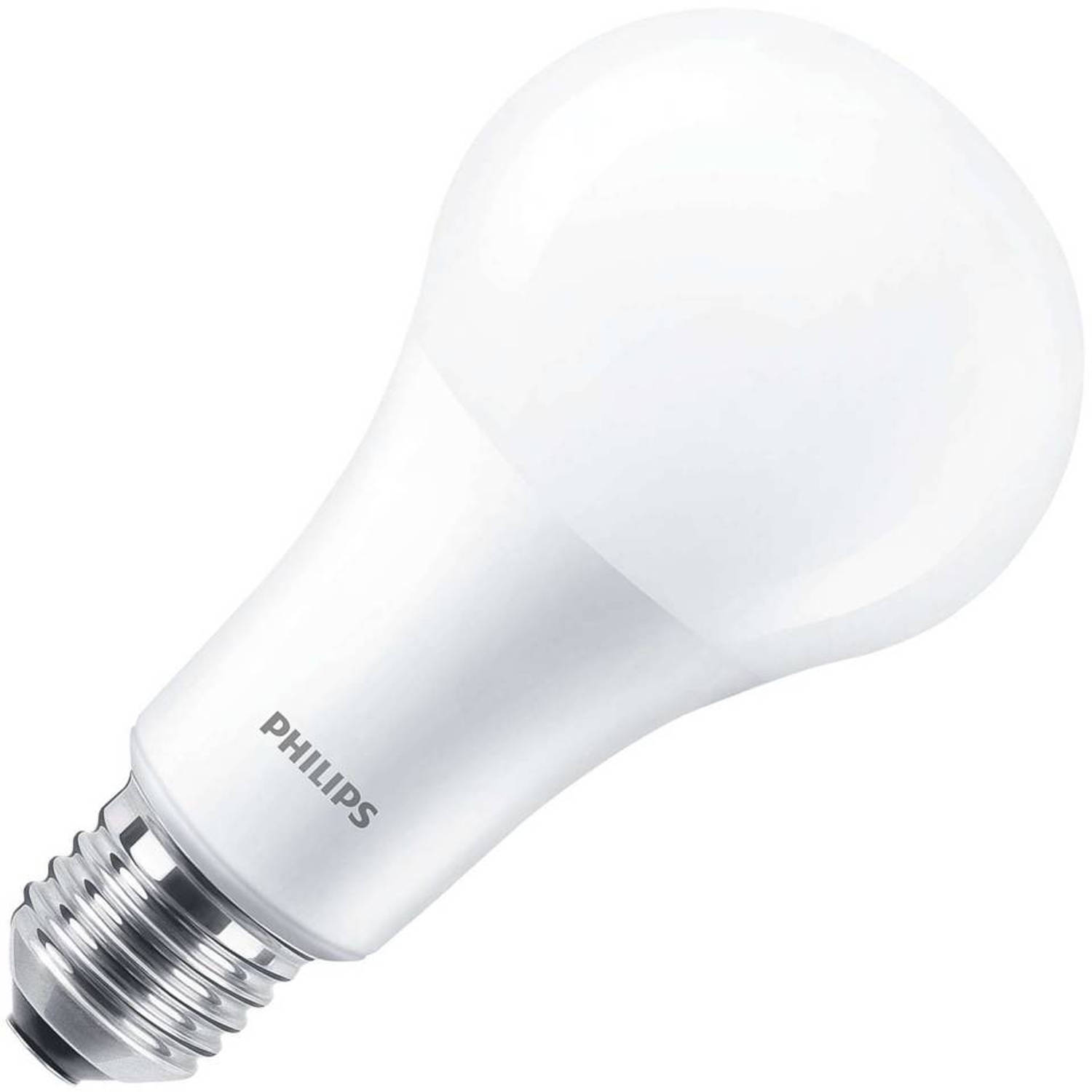 Philips standaardlamp led mat 15w (vervangt 100w) grote fitting grote fitting e27 dimtone