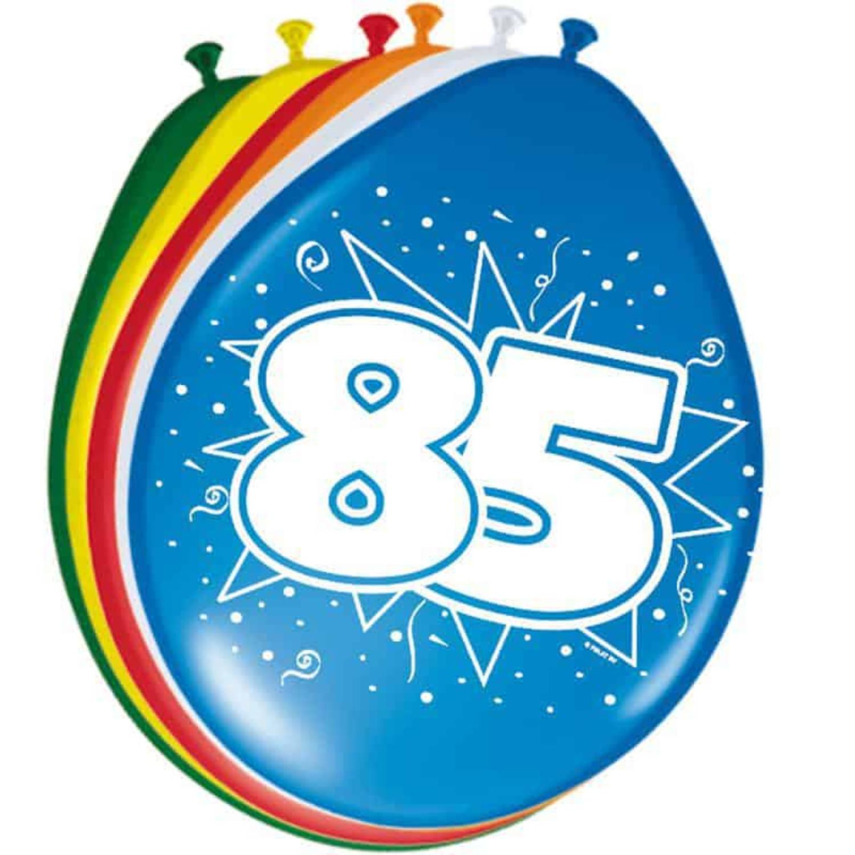 Feestbazaar Ballonnen '85' (8 st) online kopen