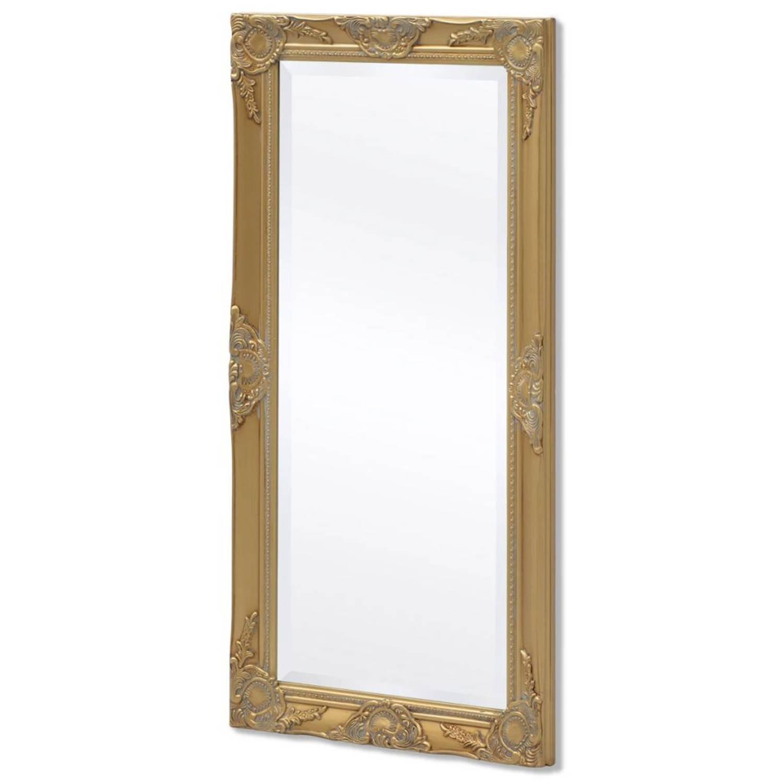 vidaXL Wandspiegel Barok 100 x 50 cm goud