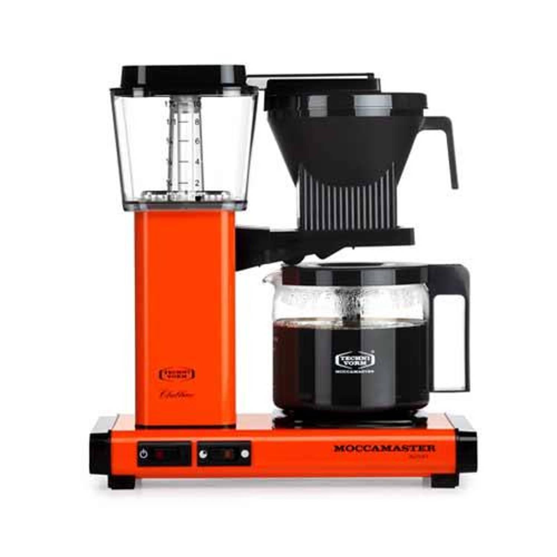 Filterkoffiemachine kbg741, orange - moccamaster