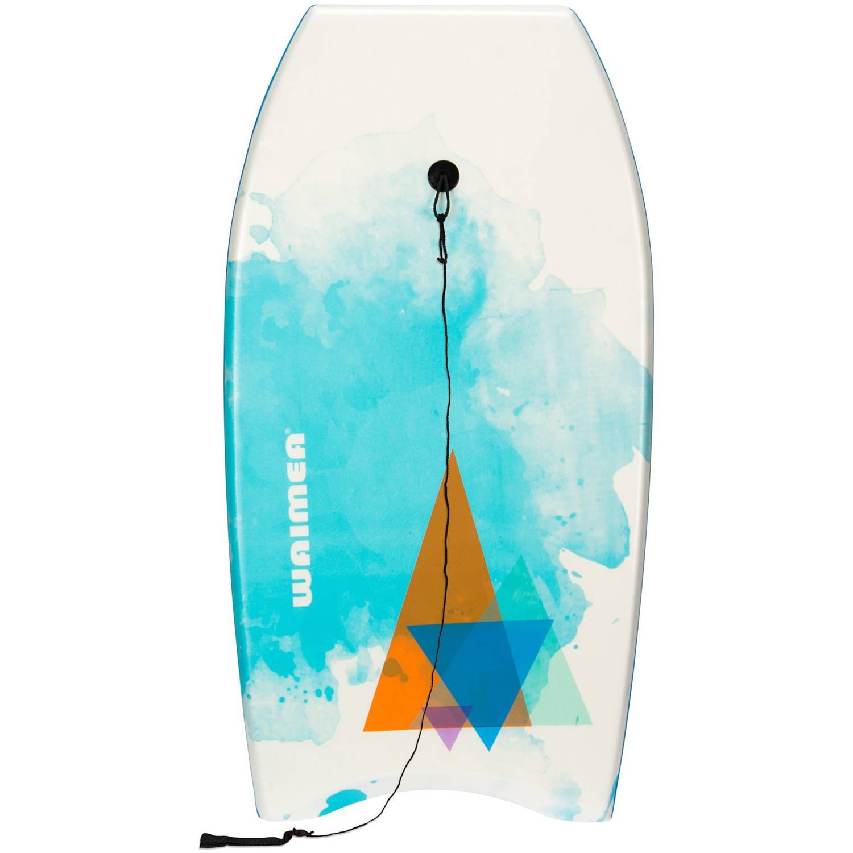 Waimea Bodyboard EPS Slick wit-blauw 93 x 48 cm
