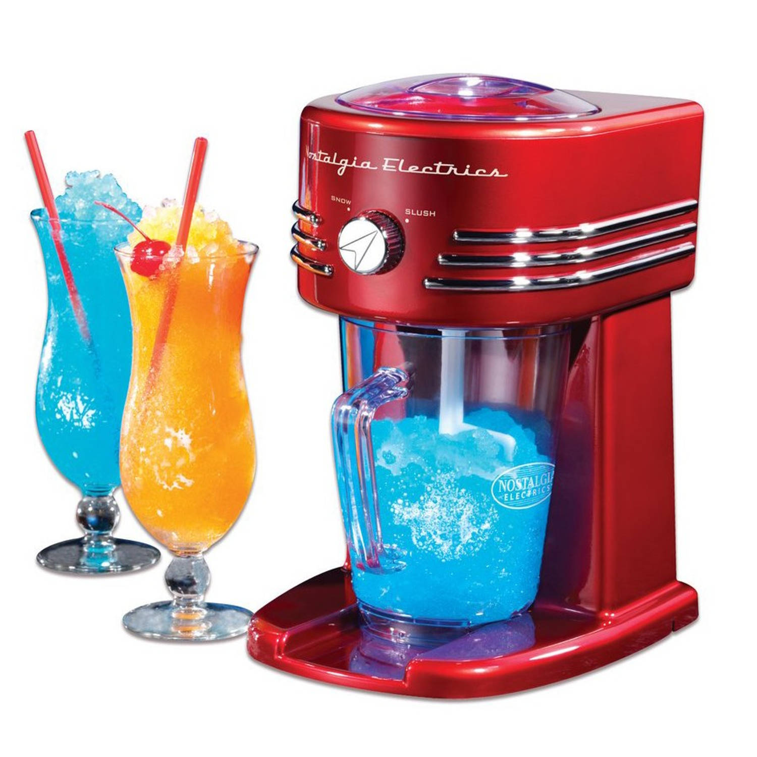 Nostalgia Electrics FBS400RETRORED Slush Puppy Machine