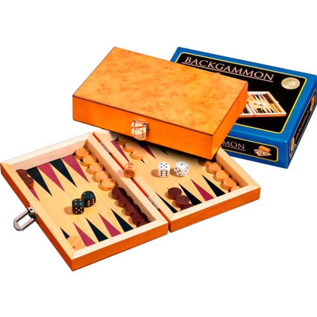 Philos backgammon korinth mini 19.5x12.5cm