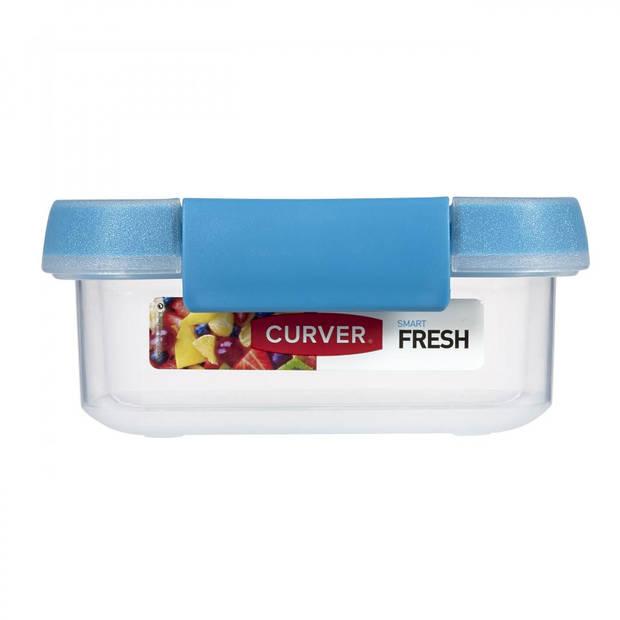 Curver Smart Fresh vershouddoos - rechthoekig - 0,2L - blauw