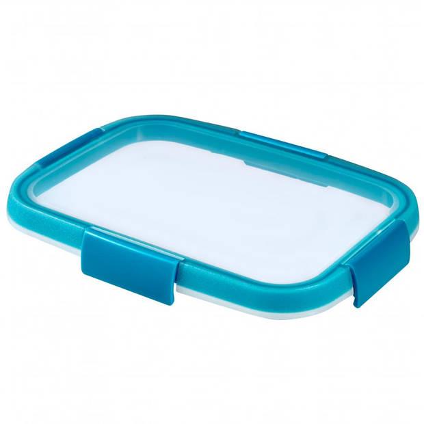 Curver Smart Fresh vershouddoos - rechthoekig - 1,0L - blauw