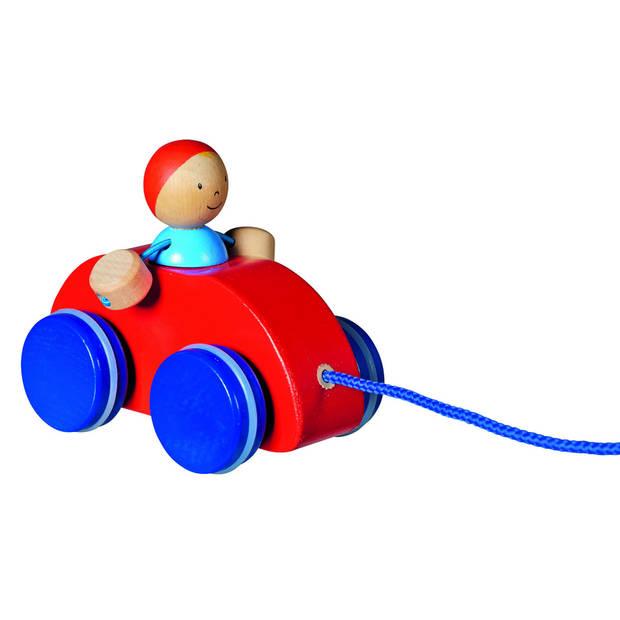 Goki Trekvoertuig Jongen Tino Met Auto