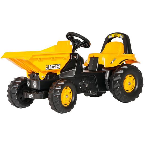 Rolly Toys traptractor RollyKid Dumper JCB junior geel